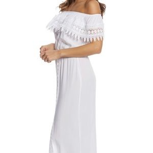 BNWT! Black or White La Blanca Maxi Dress Large